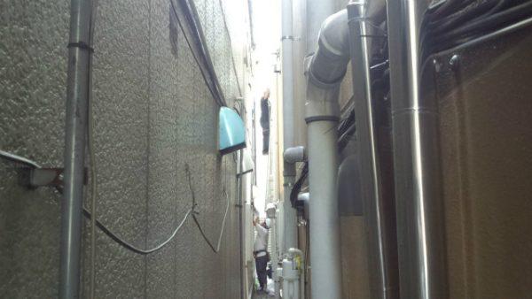 西荻窪駅前店舗無足場漏水工事サムネイル