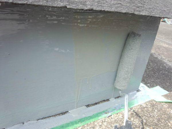 都内、屋上モルタル亀裂、ウレタン防水処理サムネイル